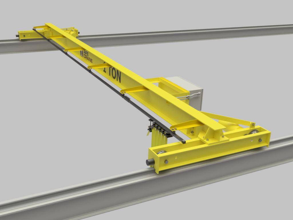 Over Head Cranes : Overhead bridge crane afe