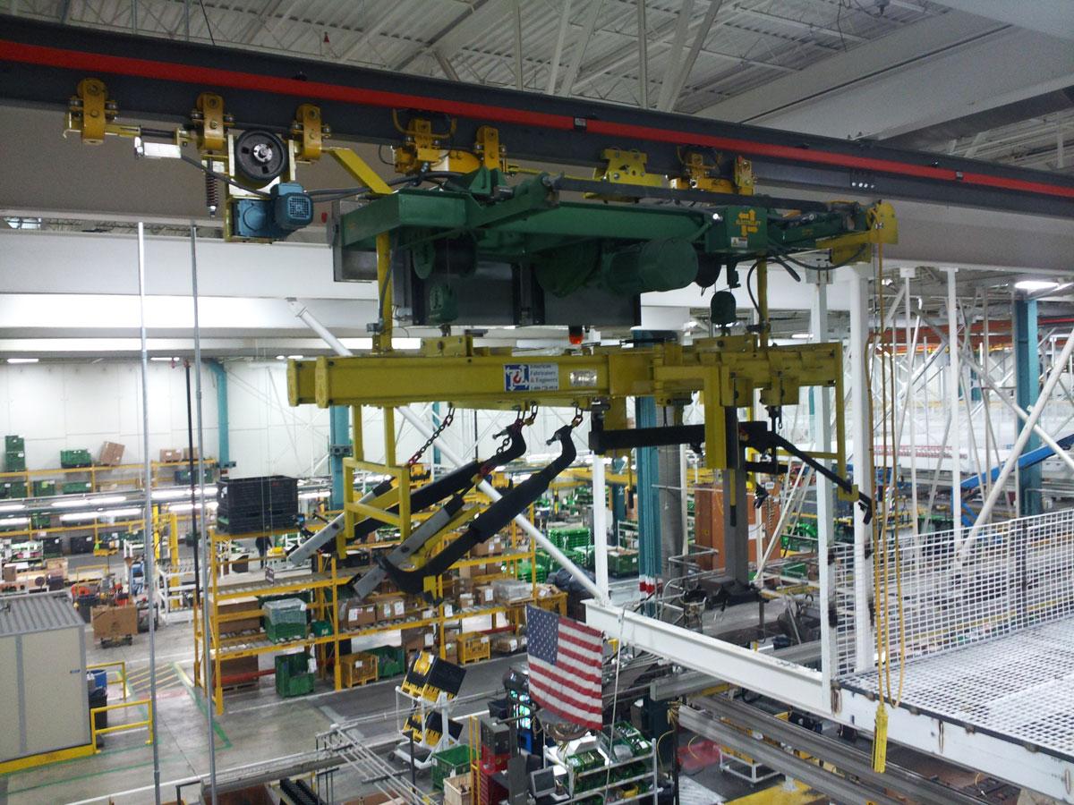Semi-Automated Hoist Carriers