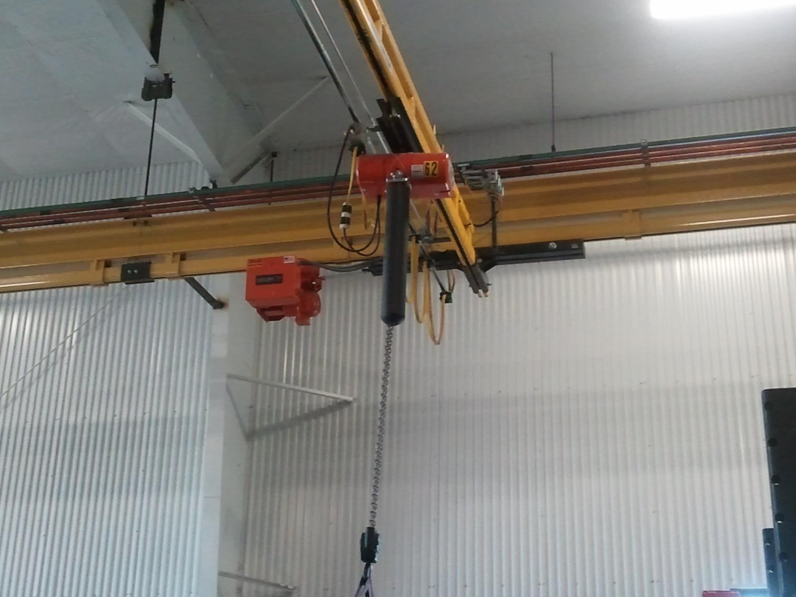 Enclosed Track System Afe Crane