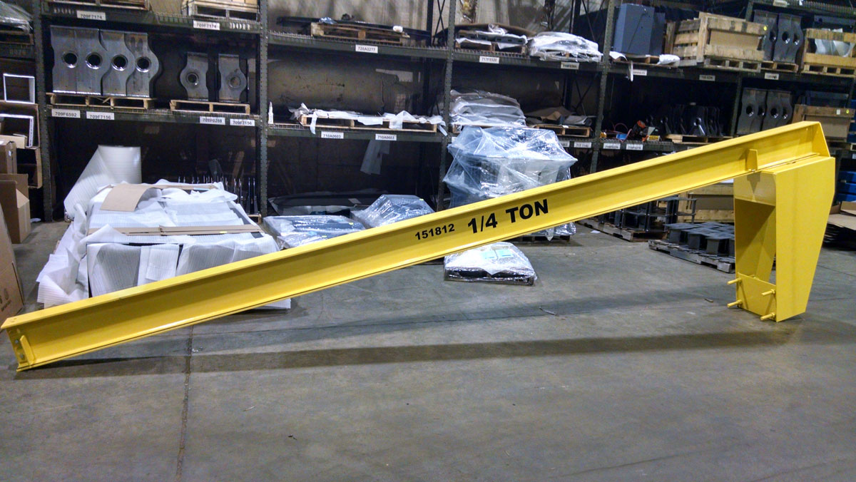 Jib Cranes Afe Crane Overhead Material Handling Experts