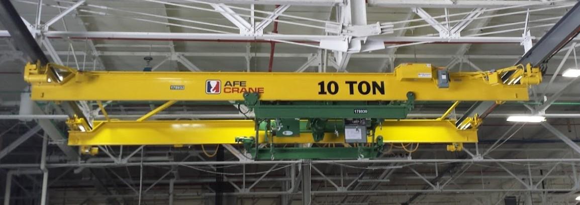 overhead material handling machines