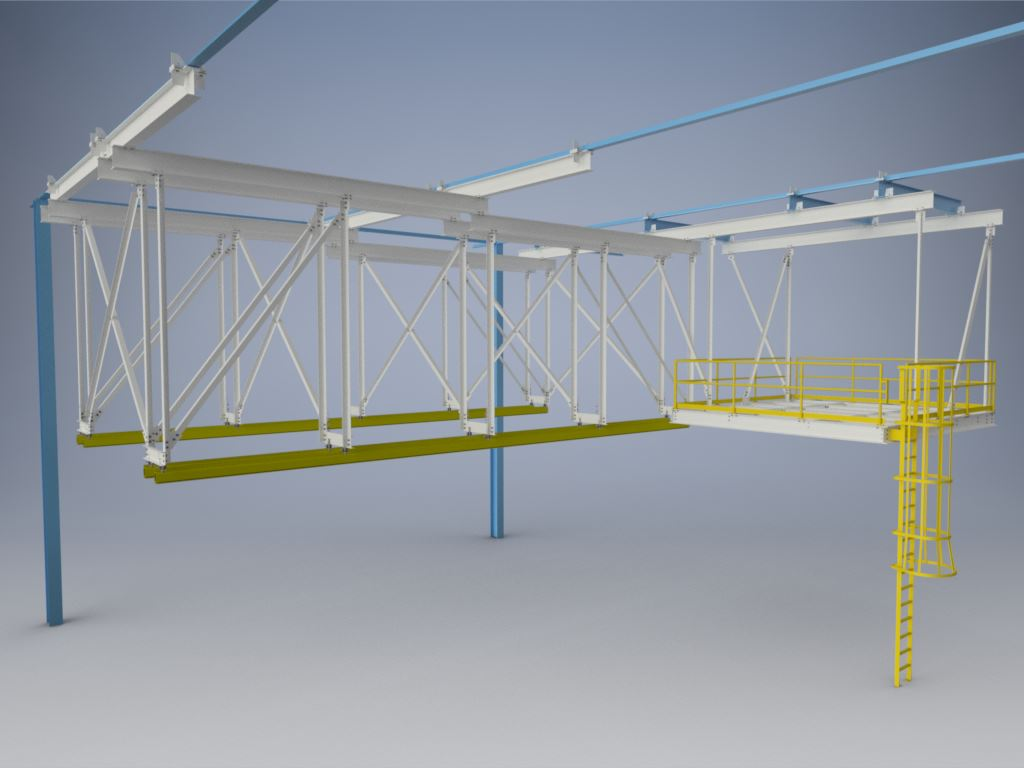 overhead material handling solutions